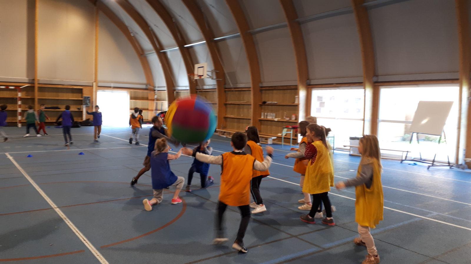 initiation au kin ball